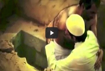بالفيديو.. شاهد ماذا حدث لإماراتي دفن نفسه حيا لتجربة ظلمة القبر
