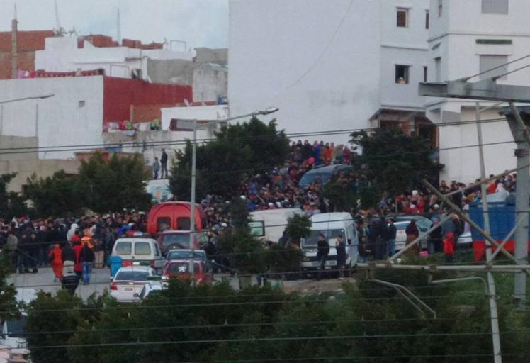 قتيلان و12 مصابا في حادثة سير بطنجة