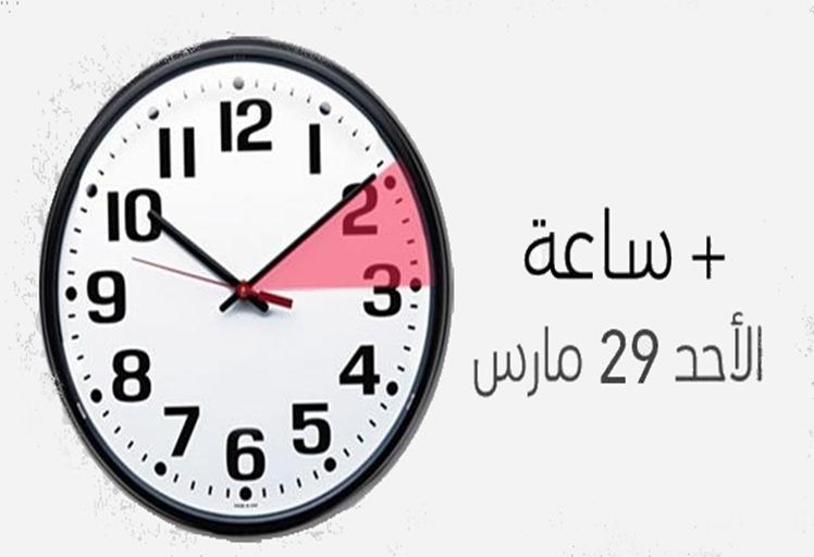 إضافة (60) دقيقة إلى التوقيت الرسمي للمملكة المغربية