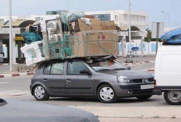 27 ألف مهاجر مغربي دخلوا أرض الوطن عبر باب سبتة