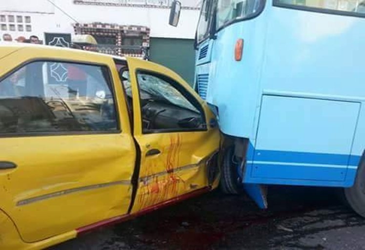 إصابة شخصين في حادثة سير بشارع موريتانيا بتطوان