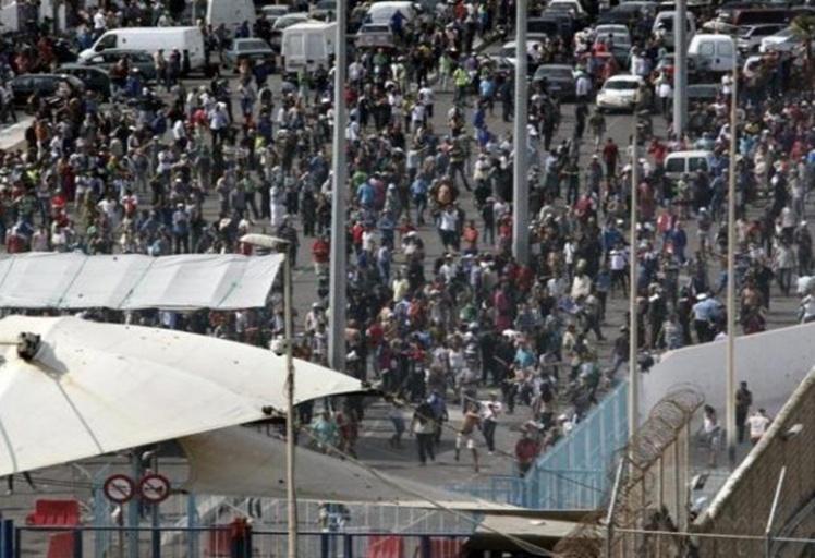 تهديدات أمنية جديدة في المعبر الحدودي باب سبتة