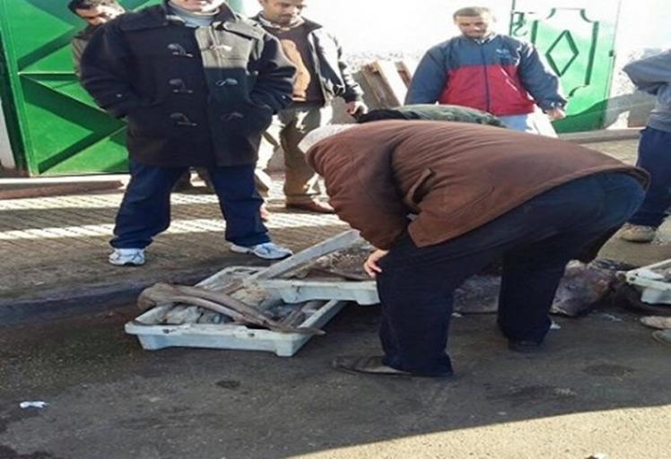 """حجز سمك فاسد بالسوق المركزي """"البلاصة"""" لمدينة تطوان"""