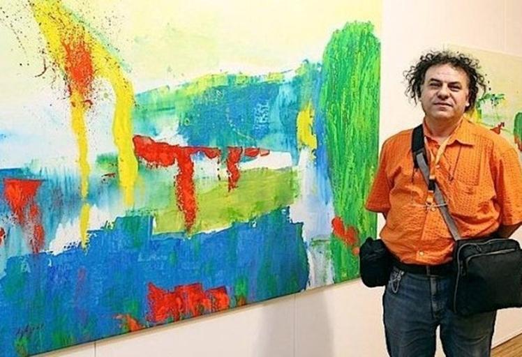 """اختيار الفنان التشكيلي """"عبد الخالق أغزوت"""" ضمن مؤلف لأبرز الرسامين المعاصرين"""