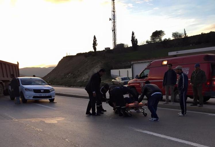 إصابة سبعيني في حادثة سير على مشارف مدينة تطوان