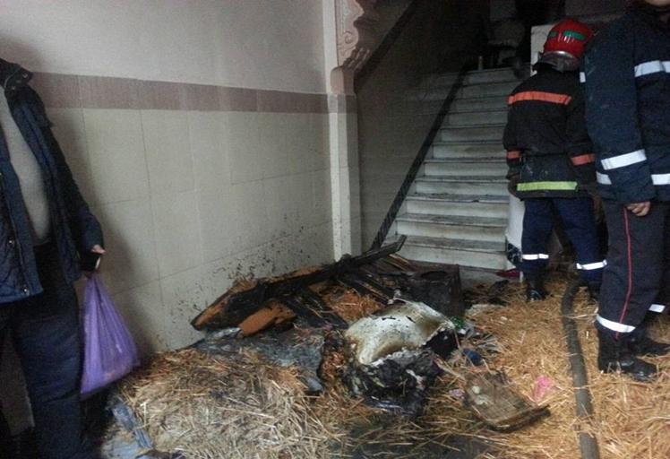 """خطير: حريق بسبب """"شارجور""""يخلف مقتل أم وطفلها بحي كويلما"""