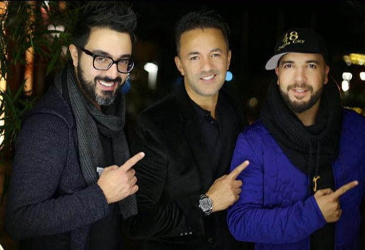 """بالصور..دويتو غنائي عالمي من إنتاج """"ريدوان"""" يجمع شوقي والدوزي"""