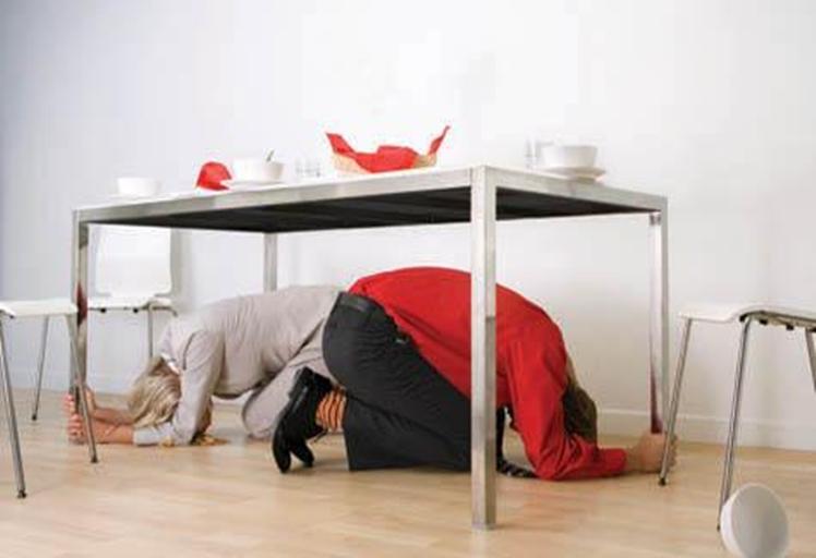 كيف تتصرف في حال حدوث الزلازل والهزات الارضية!!