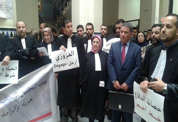 محامون يتظاهرون الاربعاء والخميس ضد قاض بتطوان