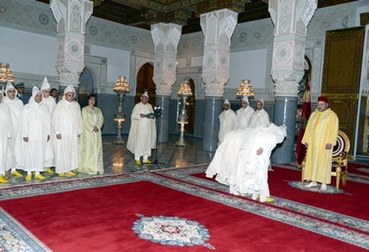 رسميا.الملك محمد السادس يستقبل واليا وعددا من العمال الجدد