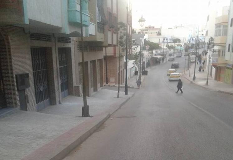 السيبة هادي : دراجات نارية تزرع الرعب في شارع محمد بنونة بتطوان