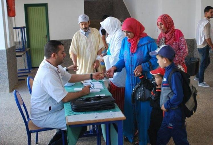 حملة طبية لساكنة جماعة صدينة تعرف إقبالا كبيرا
