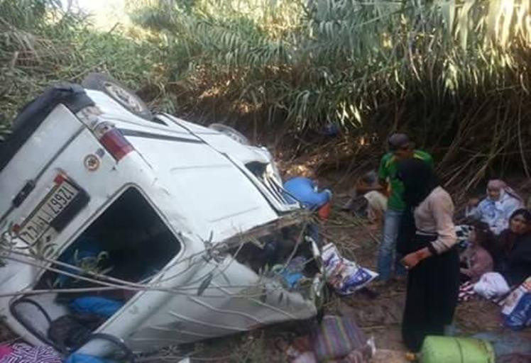 حادث سير يُعطب 13 شخصا بجماعة الملاليين