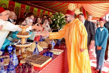 الملك يترأس حفل استقبال في المضيق بمناسبة عيد الشباب المجيد