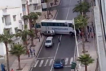 انزلاق حافلة بتطوان دون تسجيل خسائر أو إصابات