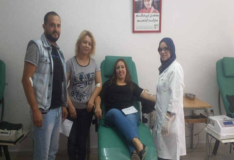 """رئيسة جمعية """"بلسم"""" تدق ناقوس الخطر بسبب قلة الاحتياط من الدم بالمركز الجهوي بتطوان"""