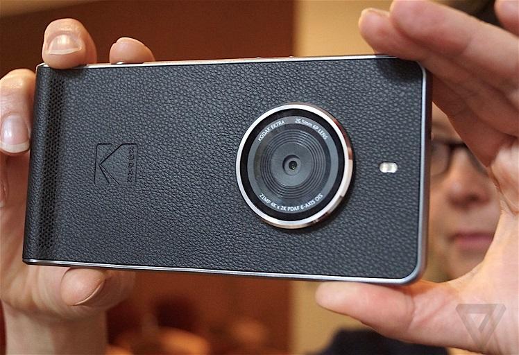 """""""كوداك"""" تقدم هاتفها الجديد بمظهر كلاسيكي وكاميرا خيالية"""