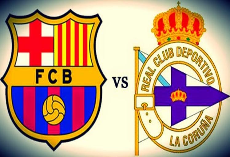 شاهد مباراة برشلونة وديبورتيفو لاكورونا بث مباشر -الدوري الاسباني