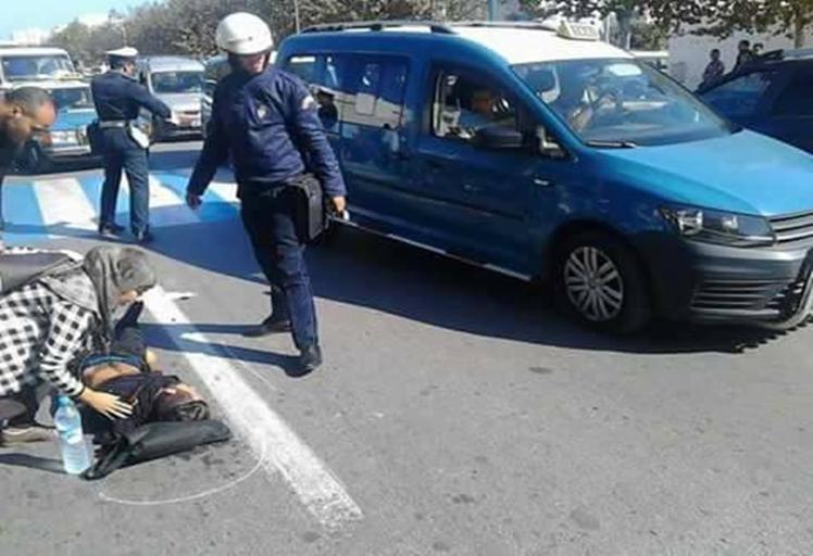 """حادث سير يؤدي إلى جرح """"طالب"""" بمرتيل"""
