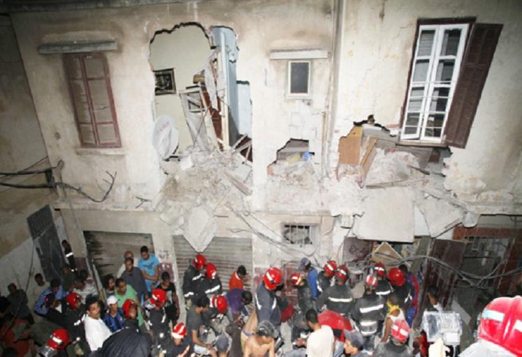 سلطات شفشاون تفرغ 10 منازل مهددة بالانهيار