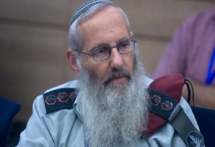 """إسرائيل تَهُمُّ بتنصيب """"حاخام"""" على الجيش يطالب الجنود باغتصاب العربيات"""