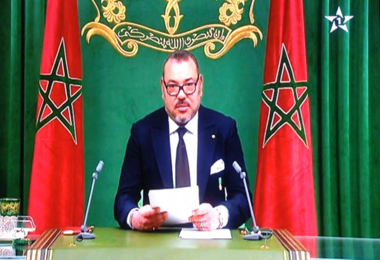 سابقة.. الملك يلقي خطاب المسيرة الخضراء من السينغال
