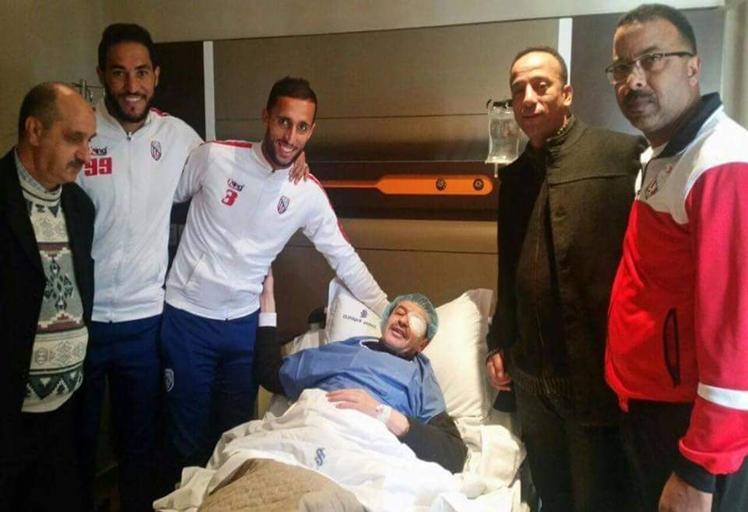 عملية جراحية ناجحة لرئيس فريق المغرب التطواني