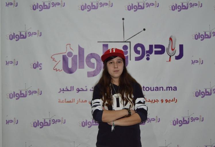 الربورة التطوانية الصاعدة سامية دالي يوسف تفتح قلبها لراديو تطوان