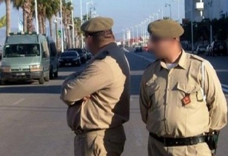 """عزل """"مخازني"""" من السلك العسكري بسبب فيديو فاضح"""
