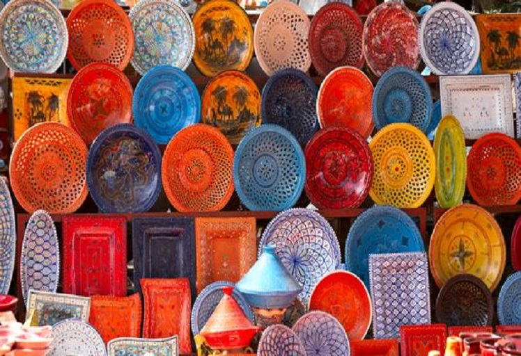 وزان: معرض الصناعة التقليدية يعرف إقبالا كبيرا