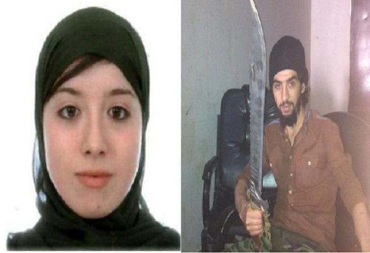 الأمن التركي يعتقل زوجة قاطع الرؤوس المغربي