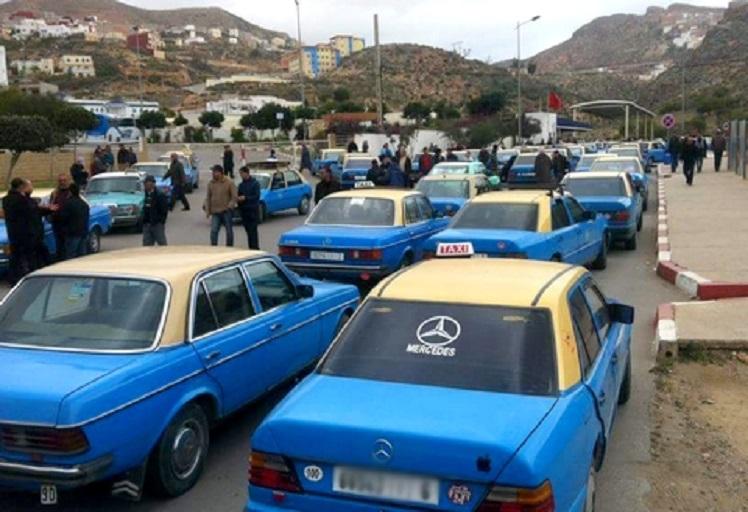 """الحسيمة: إضراب الطاكسيات تخليدا لأربعينية """"محسن فكري"""""""