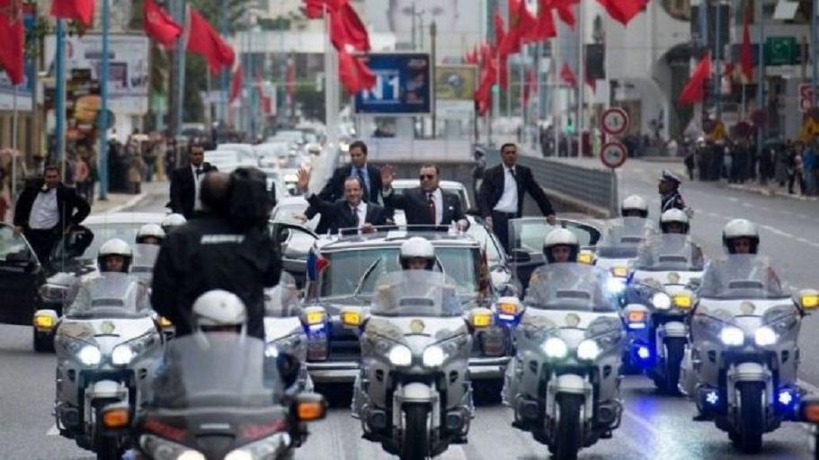 وزارة الداخلية تنفي استفادة أي شخص من أي امتيازات جراء اعتراضه للموكب الملكي