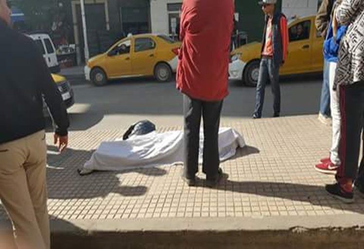 وفاة شخص بالشارع العام بشكل مفاجئ بتطوان