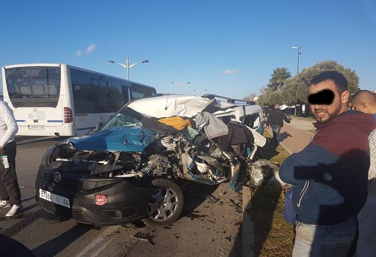 ثلاثة قتلى في حادثة سير بين تطوان و مرتيل
