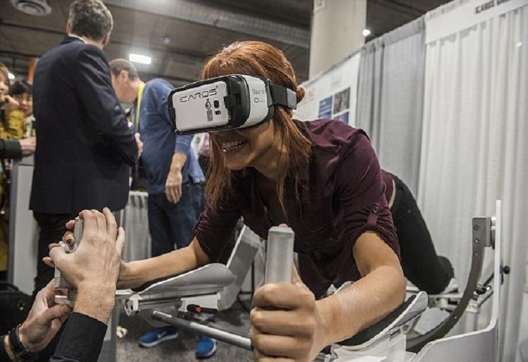 """آخر صيحات الرياضة: نشط جسمك عبر """"الواقع الإفتراضي"""""""