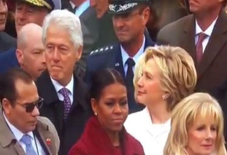 """فيديو لبيل كلينتون يتحرش ببنت ترامب يثير """"فضيحة"""" ويحصد أكثر من 50 مليون مشاهدة"""