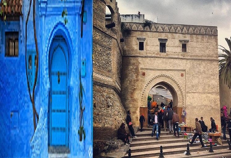 تقرير صحفي إسباني يتحدث عن أناقة مدينة تطوان و سحر شفشاون