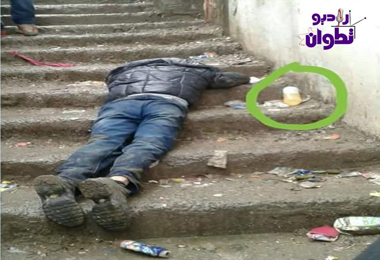"""عاجل من """"باب برد"""": شخص يحاول الإنتحار بواسطة """"الماء القاطع"""" + صور"""