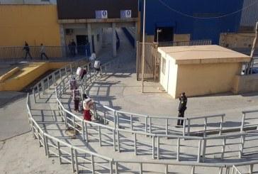 """""""تارخال 2"""" يفتح أبوابه أخيرا أمام ممتهني التهريب المعيشي في سبته المحتلة"""