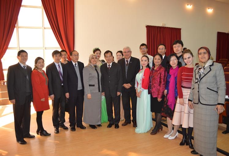 رئاسة جامعة عبد المالك السعدي تحتضن حفل الافتتاح الرسمي لمعهد كونفيشيوس لتعليم اللغة والثقافة الصينية
