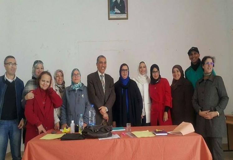 إنتخاب لطيفة أرسلان كاتبة عامة للفرع الاقليمي للجمعية المغربية لأساتذة اللغة الفرنسية بتطوان