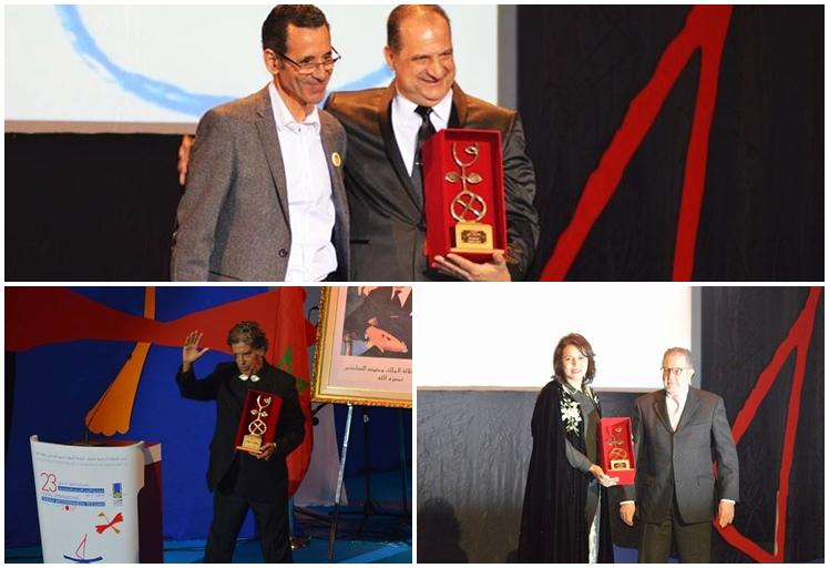 """افتتاح الدورة 23 لمهرجان تطوان السينمائي الدولي بتكريم """"عمالقة"""" في الفن و الموسيقى"""