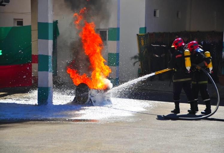 بالفيديو: هكذا أخمدت الوقاية المدنية حريقا في تطوان !!