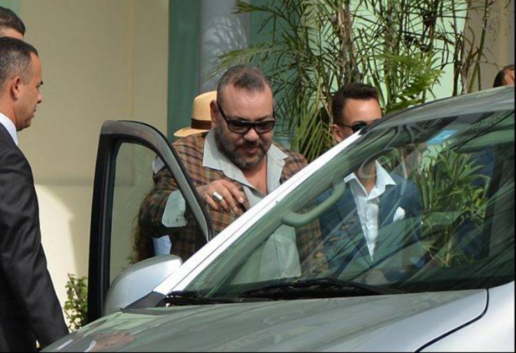 الملك يحل بإقامته الصيفية بمدينة المضيق