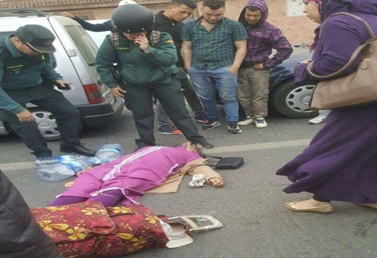 عنصر من الحرس المدني بسبتة يدهس مغربية خمسينية فوق ممر الراجلين