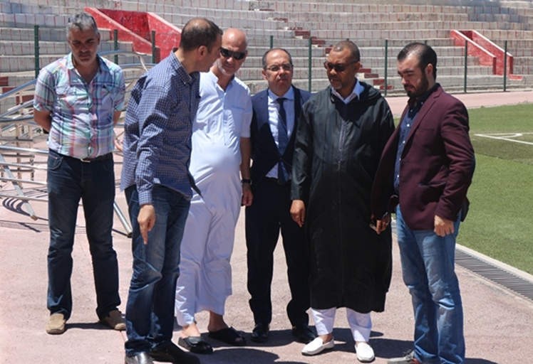 بالصور: 22 مليون درهم تكلفة إصلاح ملعب سانية الرمل