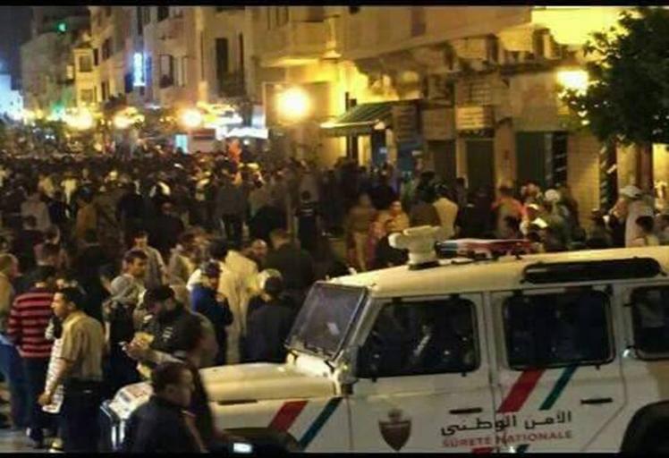 إصابات خلال تدخل أمني لمنع وقفة احتجاجية في تطوان – صور