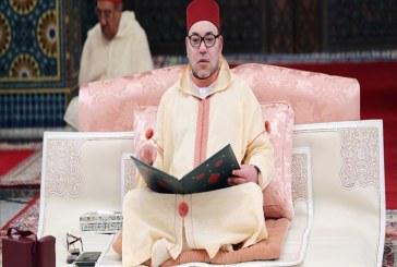 محمد رشدي الوداري رئيس الرابطة الإسلامية الإسبانية مالقة البالو يهنئ جلالة الملك بعيد العرش المجيد