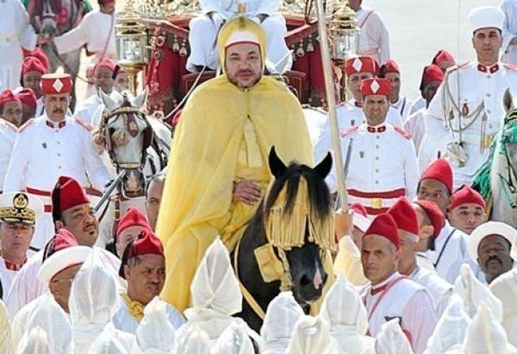 الملك يترأس أحتفالات عيد العرش بين مدينتي طنجة وتطوان